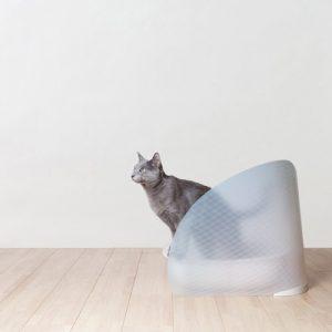オッポ OPPO 猫用トイレ トイレスクリーン ToiletScreen (ナチュラルブラウン)
